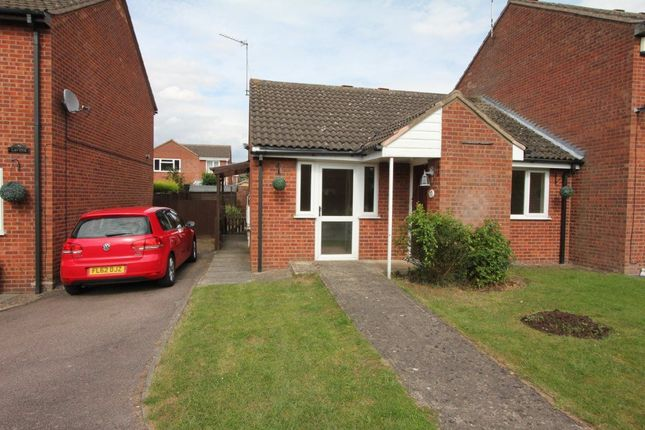 Thumbnail Bungalow to rent in Sycamore Close, Burbage, Hinckley