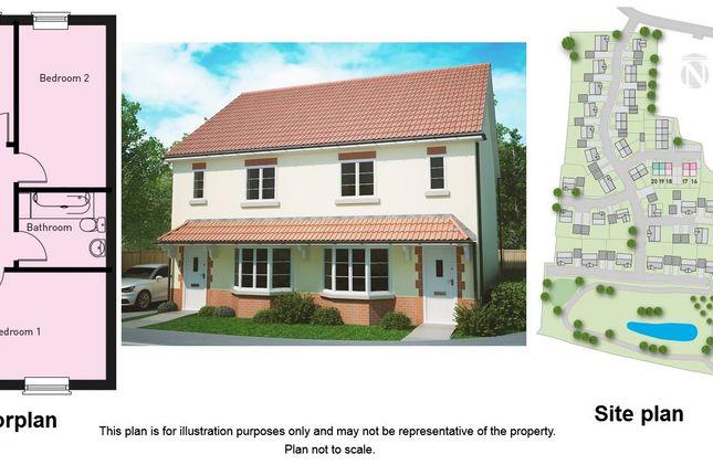 Thumbnail Semi-detached house for sale in Hyde Lane, Creech St. Michael, Taunton