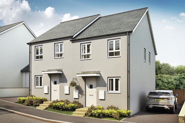 "Thumbnail End terrace house for sale in ""Richmond"" at Kimlers Way, St. Martin, Looe"