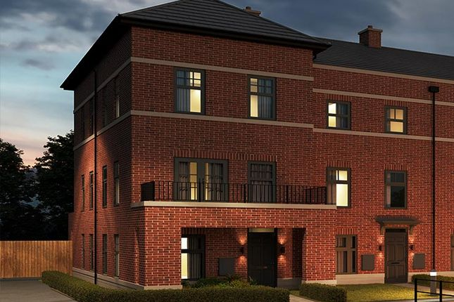 Thumbnail Town house for sale in York Road, Seacroft, Leeds