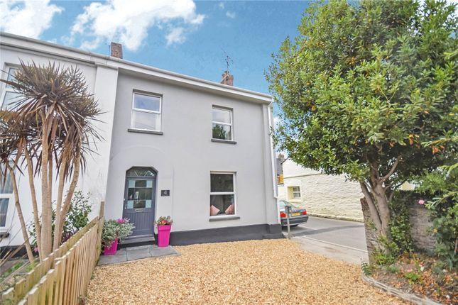 Thumbnail End terrace house for sale in Marine Terrace, Wadebridge