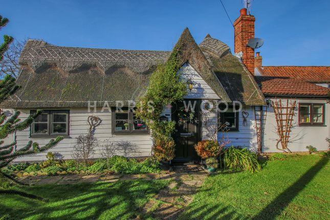Thumbnail Cottage for sale in Brick Kiln Lane, Great Horkesley, Colchester