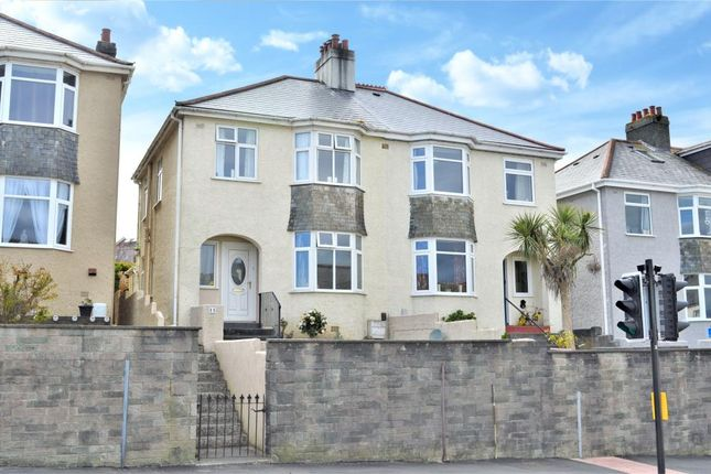 3 bed semi-detached house for sale in North Road, Saltash, Cornwall PL12