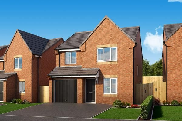"Thumbnail Property for sale in ""The Elm At Coppice Heights"" at Palmer Road, Dipton, Stanley"