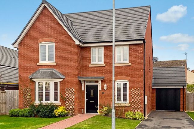 Thumbnail Detached house for sale in St. Peters Field, Whitestone, Hereford