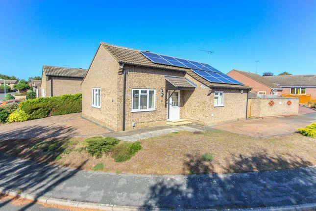 Thumbnail Detached bungalow for sale in Elliott Close, Newmarket