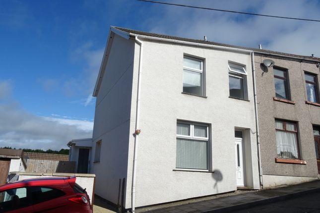 Thumbnail End terrace house to rent in Wimbourne Street, Dowlais