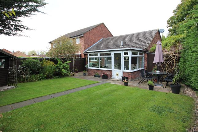 Thumbnail Semi-detached bungalow for sale in Otter Drive, Mulbarton, Norwich