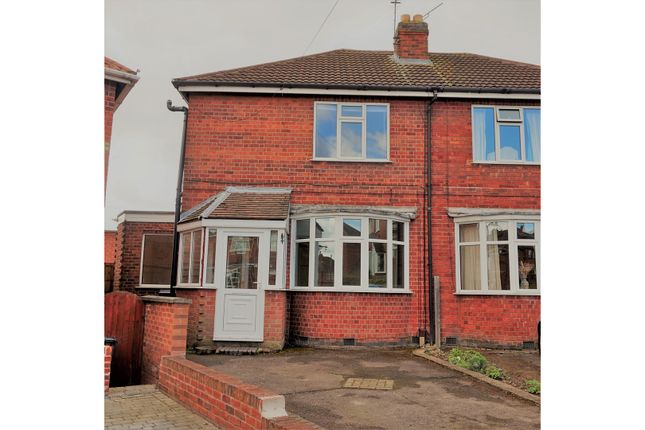 Thumbnail Semi-detached house for sale in Roydene Crescent, Leicester