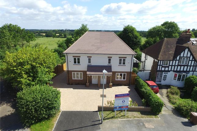 Thumbnail Semi-detached house for sale in 26A Wayside Avenue, Bushey, Hertfordshire
