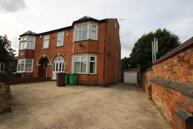 Thumbnail Semi-detached house to rent in Lenton Boulevard, Lenton, Nottingham
