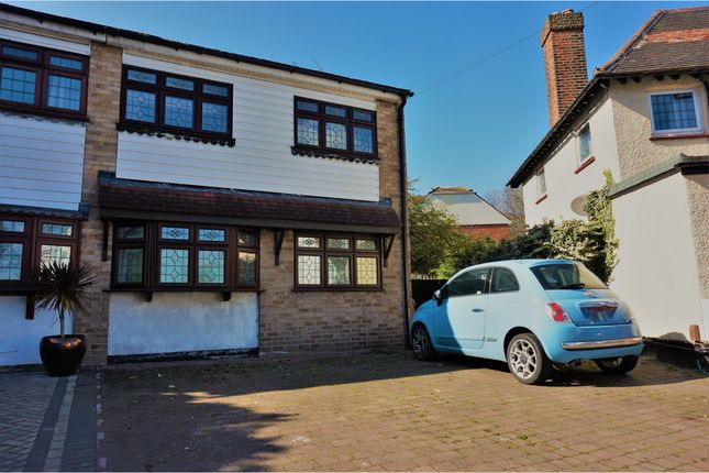 Thumbnail Semi-detached house for sale in Saville Road, Chadwell Heath