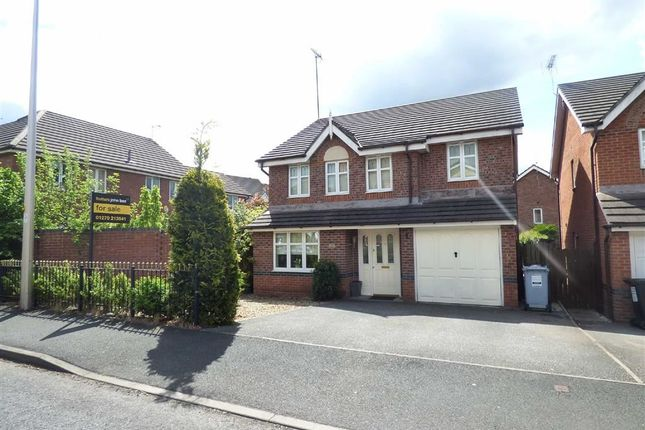 Thumbnail Detached house for sale in Rolls Avenue, Crewe