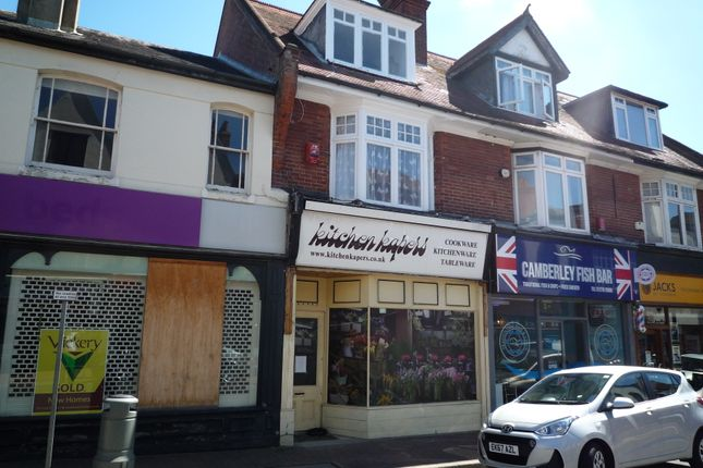 Thumbnail Retail premises to let in High Street, Camberley