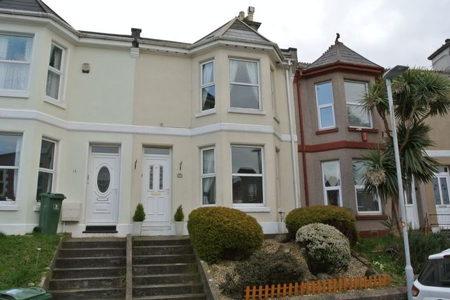 Thumbnail Terraced house for sale in St. Georges Terrace, Plymouth