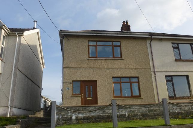 Thumbnail Semi-detached house for sale in Penybanc Road, Ammanford, Carmarthenshire.