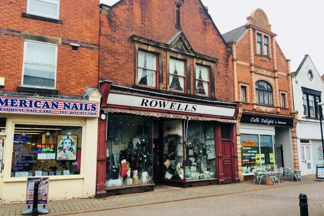 Retail premises for sale in 22 High Street, High Street, Long Eaton