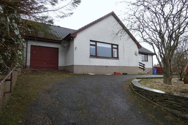 Thumbnail Detached bungalow for sale in Rose Street, Thurso
