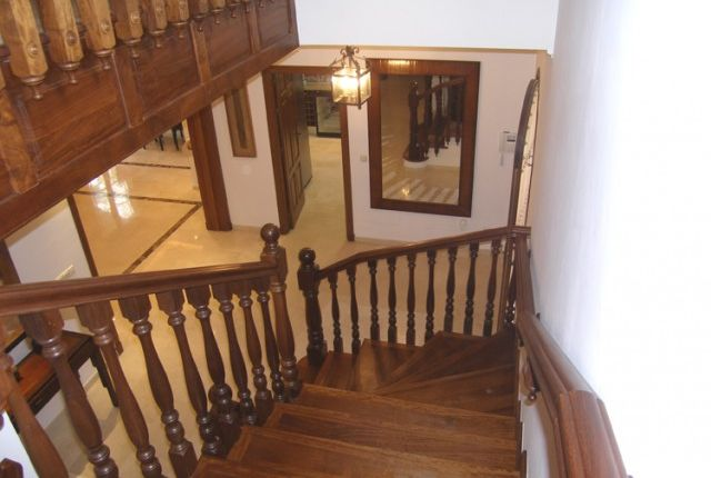 Wooden Staircase of Spain, Málaga, Mijas, Calahonda