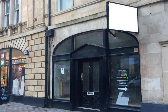 Thumbnail Retail premises to let in Wilson Street, Glasgow