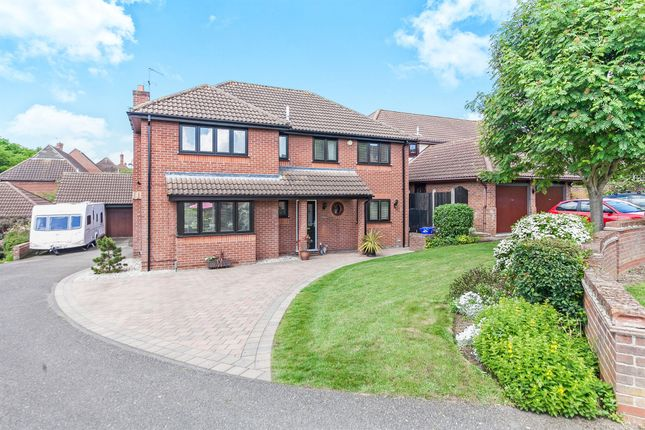 Thumbnail Detached house for sale in Thistledown, Highwoods, Colchester