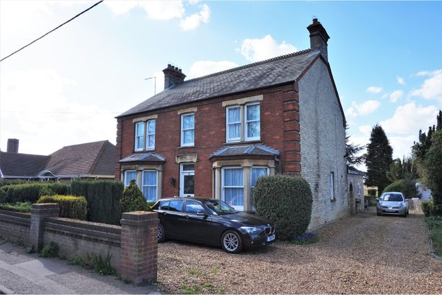 Thumbnail Detached house for sale in Town Street, Wisbech