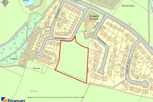 Land for sale in Land At, Bryn Stanley, Denbigh, Denbighshire, UK