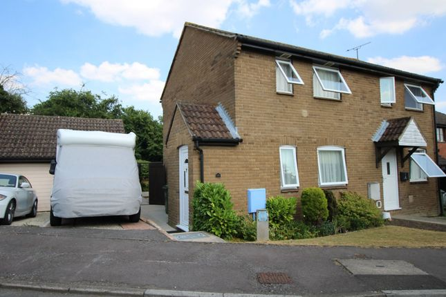 Thumbnail Semi-detached house for sale in Castlehaven Close, Chippenham, Wiltshire