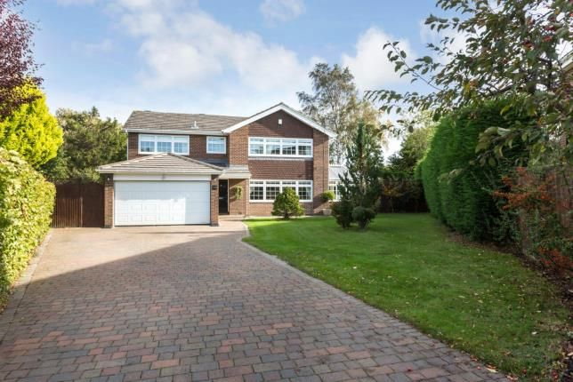 Thumbnail Detached house for sale in Avondale Road, Darras Hall, Northumberland, Tyne & Wear