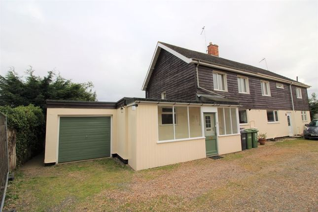 Thumbnail Semi-detached house to rent in Belgrave Square, Sawtry, Huntingdon