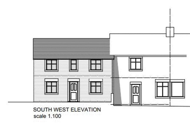 Thumbnail Semi-detached house for sale in The Old Village Store Building Plot, Main Road, Stoney Middleton
