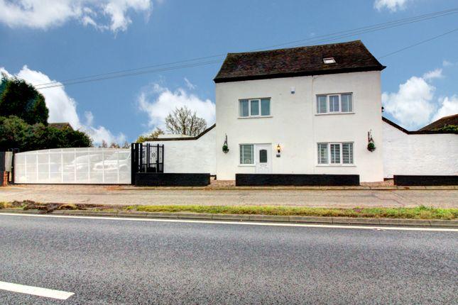 Thumbnail Detached house for sale in Watling Street, Wall, Lichfield