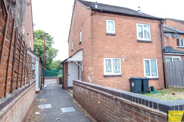 Thumbnail End terrace house for sale in Wattville Road, Handsworth, Birmingham