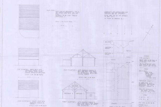 Plans of Manor Road, Little Easton, Dunmow CM6