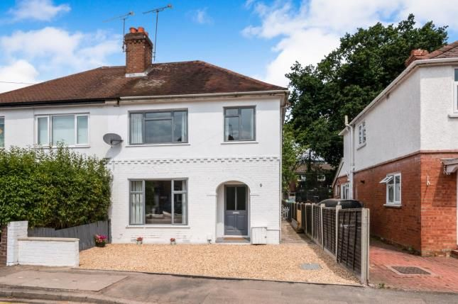 Thumbnail Semi-detached house for sale in Camberley, Surrey, .