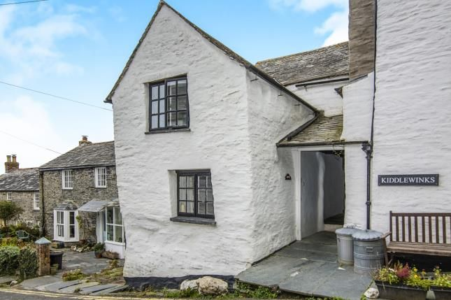 Thumbnail End Terrace House For Sale In Fore Street Boscastle Cornwall