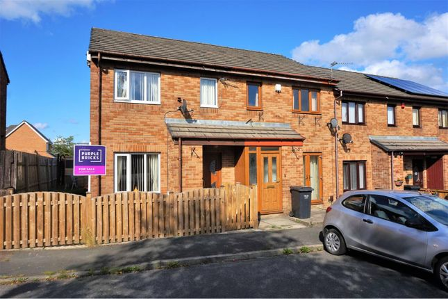 Thumbnail 2 bed end terrace house for sale in Rose Heath, Halifax