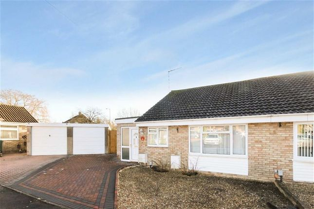 Thumbnail Semi-detached bungalow for sale in Ruskin Drive, Royal Wootton Bassett, Wiltshire