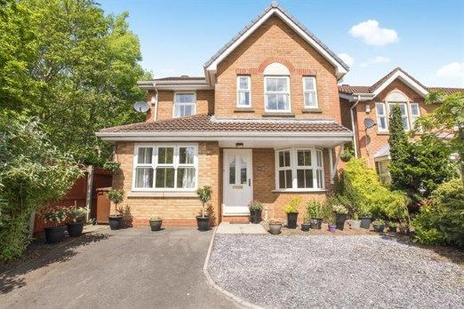Thumbnail Detached house for sale in Hunters Lodge, Walton-Le-Dale, Preston