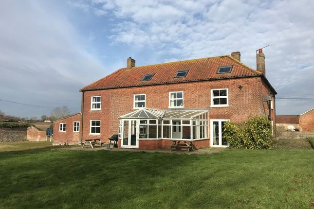 Thumbnail Detached house to rent in Oxwick, Fakenham