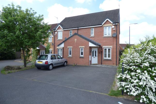 Thumbnail Semi-detached house to rent in Kiwi Drive, Alvaston, Derby