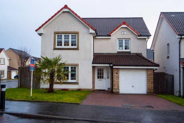 Thumbnail Detached house for sale in Fairley Drive, Larbert