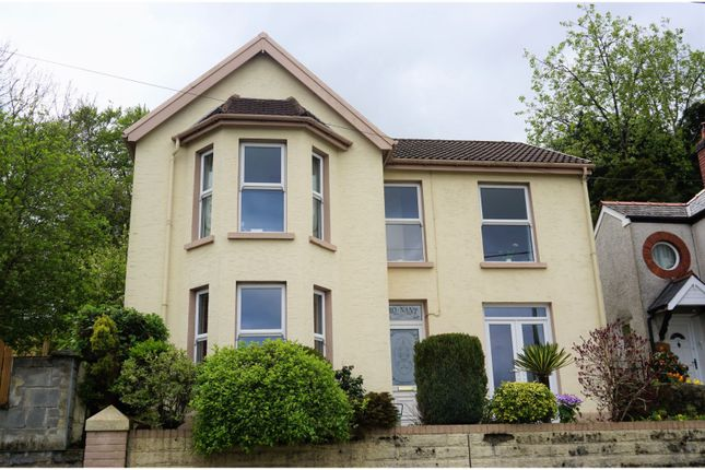 Thumbnail Detached house for sale in Farm Road, Bargoed