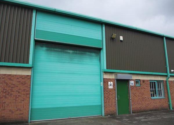 Thumbnail Light industrial to let in Unit 14, Ecclesbourne Park Industrial Estate, Clover Nook Road, Alfreton