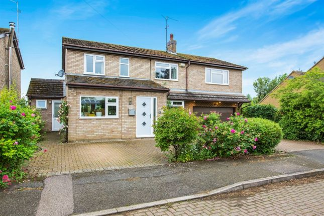 Thumbnail Detached house for sale in Meadow Close, Ringstead, Kettering