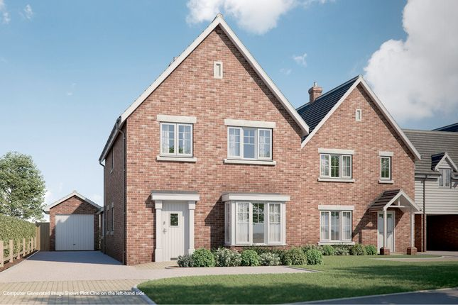 Thumbnail Detached house for sale in Warren Lane, Stanway, Colchester