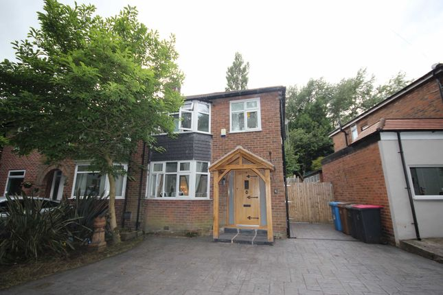 Thumbnail Semi-detached house to rent in Moorfield, Roe Green, Worsley