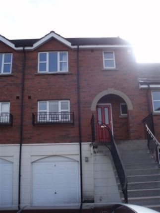 Thumbnail Town house to rent in Ardenlee Rise, Ravenhill, Belfast