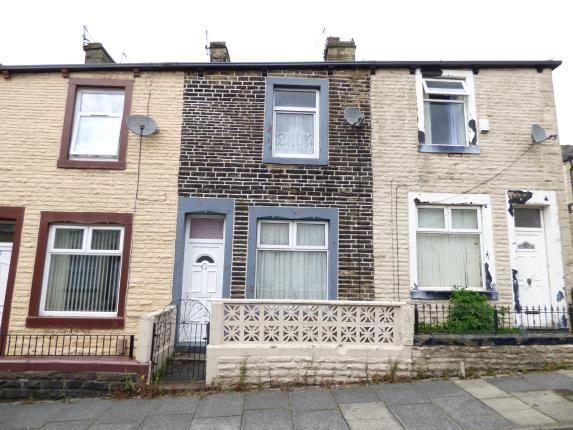 Front of Cameron Street, Burnley, Lancashire BB10