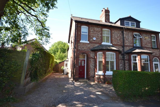 Thumbnail Semi-detached house for sale in Stanley Terrace, Knutsford Road, Alderley Edge